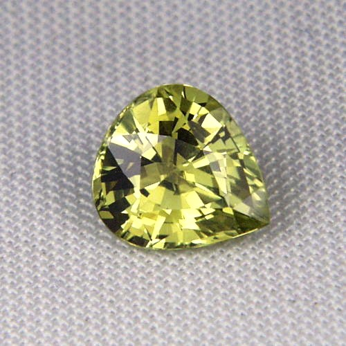Rare! Top Cut  & Fine Color Natural  Chrysoberyl GLI Litnon.com