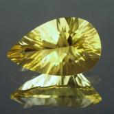 Collectors Fancy Cut  Yellow Fluorite Afghanistan  GLI