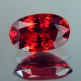 Color &Fire! Big Red Spessartite Garnet 8.06ct! GLIX