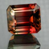 Big  Bright & Clean!  Bi-Color Tourmaline 11.17ct GLI