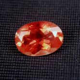 $NR$ Big & Bright! Gem Red Orange Andesine 5.04 ct! GLI
