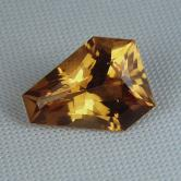 Top Cut! Natural Golden Citrine Brazil 5.86 ct GLI