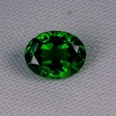 Top Gem! Emerald Green Old Mine Russian Demantoid Garnet GLI