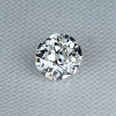 Antique ~ Vintage Old Mine Cut Diamond 0.59 ct GLI