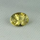 Top Cut! Golden Yellow Chrysoberyl Tanzania GLI