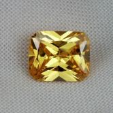 Fine Cutting! Canary Yellow Cubic Zirconia GLI