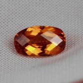 Ultra Rare! Faceted Bastnaesite Pakistan 2.91 ct GLI