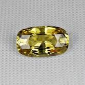 Bright  & Clean! Yellow  Chrysoberyl Sri Lanka 2.64 ct GLI