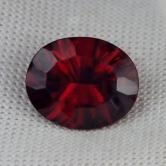 USA Cut!  Chrome Pyrope Garnet Kenya 4.48 ct GLI