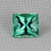 USA Cut! Open Color Green Afghan Tourmaline 1.11 ct GLI
