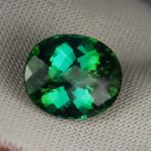 Fine Color & Cut!  Kelly Green Tourmaline Brazil 8.48 ct GLI