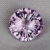 Top Cutting!  Light Lilac Color Amethyst Brazil 6.96ct!  GLI
