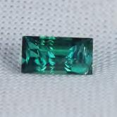 Color!  Bright Blue Green Tourmaline Afghanistan 1.21 ct GLI