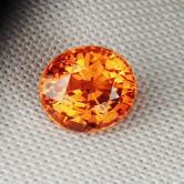 Color & Fire! Gem Orange Mandarin Spessartite Garnet  GLI