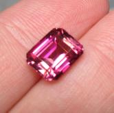 Big & Bold! USA Cut  Fine Pink Tourmaline Nigeria 3.49 ct GLI