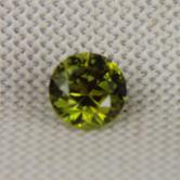 Brilliant & Top Cutting! Color Shift Russian Demantoid Garnet GL
