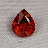 Classic Color! Natural Spessartite Garnet Nigeria 4.18ct GLI