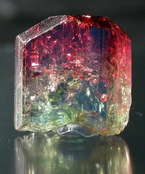 Bi Color Natural Tourmaline