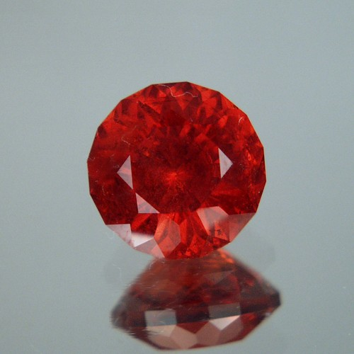 Color & Fire! Orange Red Spessartite Garnet Madagascar 13.36 ct! Litnon.com