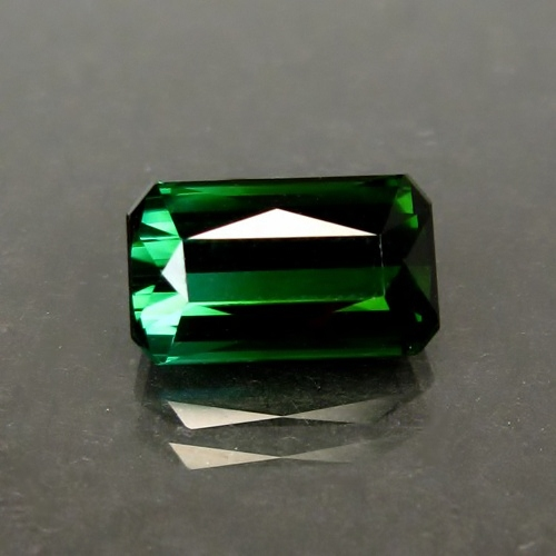 Deep Green Natural Tourmaline Nigeria 4.60ct GLI Litnon.com