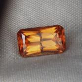 Amber Orange Natural Zircon! Cambodia 2.79 ct GLI