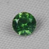 Top Gem! Chrome Green  Russian Demantoid Garnet GLI
