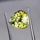 Rare! Top Cut  & Fine Color Natural  Chrysoberyl GLI
