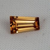 Top Cut! Natural Honey Zircon! Tanzania 1.60 ct GLI