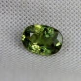 Natural Demantoid Garnet Pakistan 1.05 ct GLI