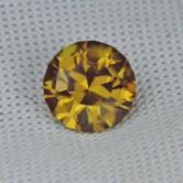 Top Cutting! Natural Golden Yellow Zircon Sri Lanka GLI