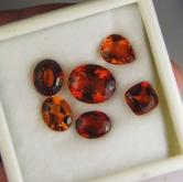 Old Stock! Natural Madeira Citrine Lot  Brazil 16.72 ct GLI