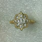 Diamond 14 kt Yellow Gold Ring 1.00 ct. tw GLI